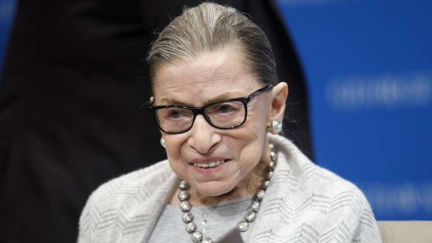 The late Supreme Court Justice Ruth Bader Ginsburg will be honored with two days of repose at the high court.