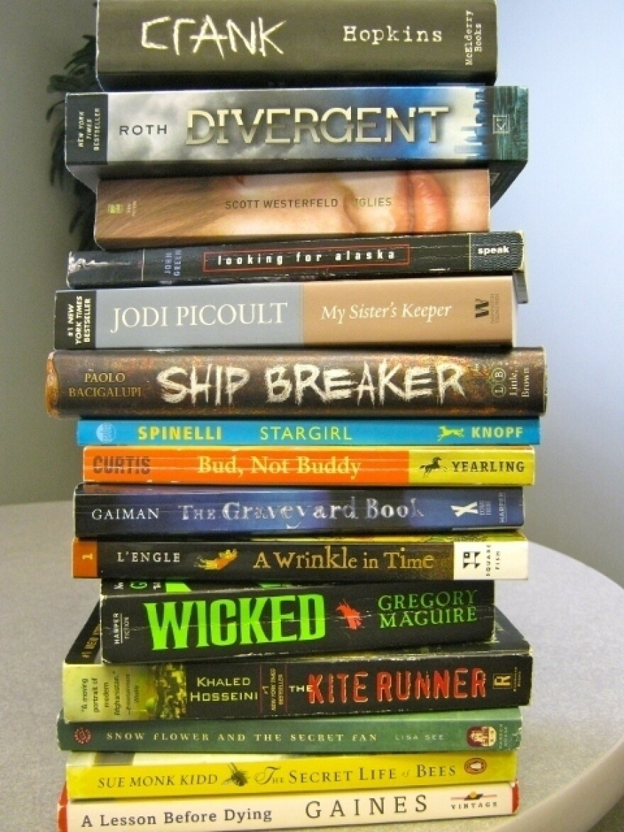 A stack of Reading For Life favorites.
