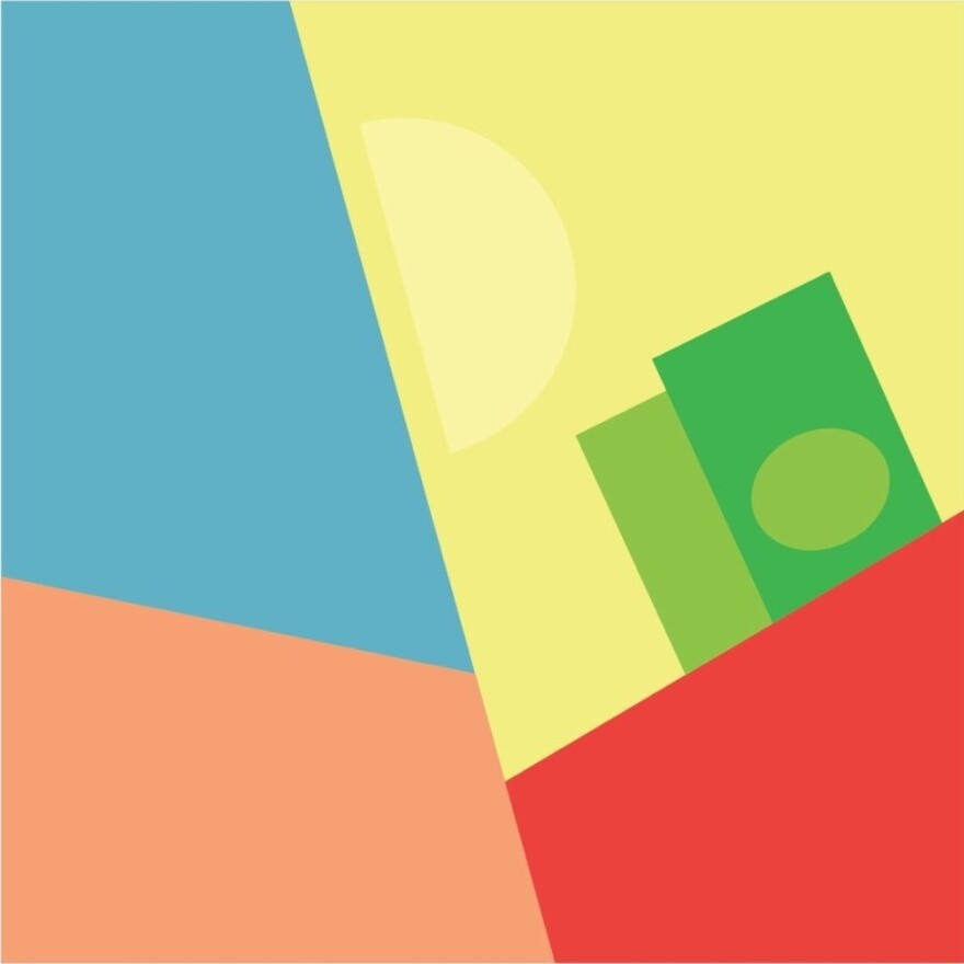 """Art for Chance The Rapper's single """"65th and Ingleside,"""" by Brandon Breaux."""