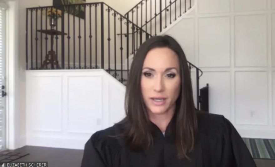 Broward Circuit Judge Elizabeth Scherer