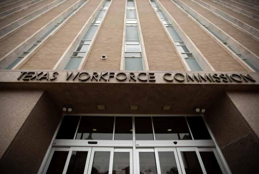 The Texas Workforce Commission runs the state's unemployment system