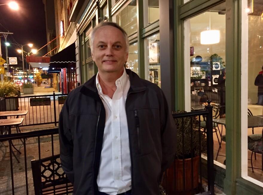 Rocky Belcher, professor of entrepreneurship at Sinclair Community College.