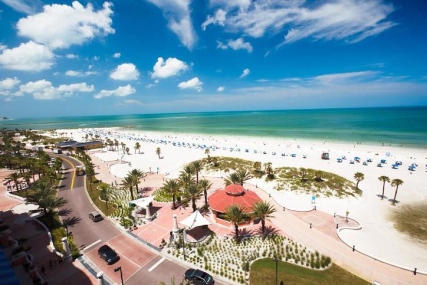 Clearwater Beach is a popular spot for spring breakers, and will close to the public for two weeks beginning March 23.
