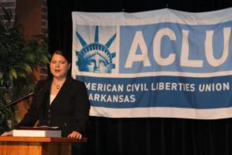 Holly Dickson, ACLU Arkansas Legal Director.