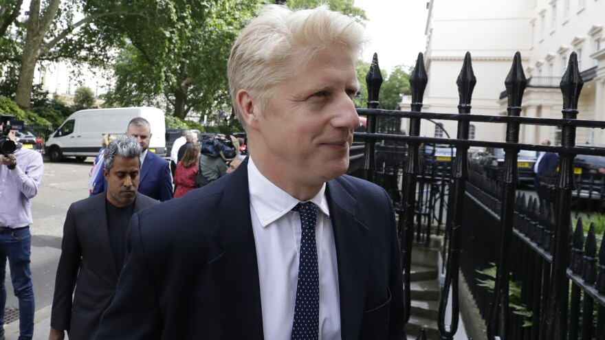 Jo Johnson, brother of Britain's prime minister, Boris Johnson, resigned from Parliament and his brother's Cabinet on Thursday.