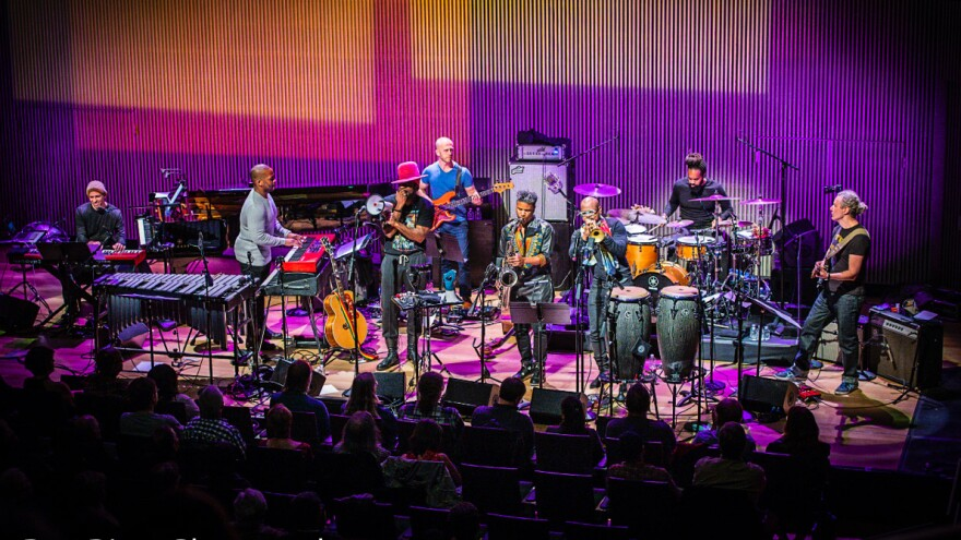 The SFJAZZ Collective, performing live from the Robert N. Miner Auditorium in San Francisco.