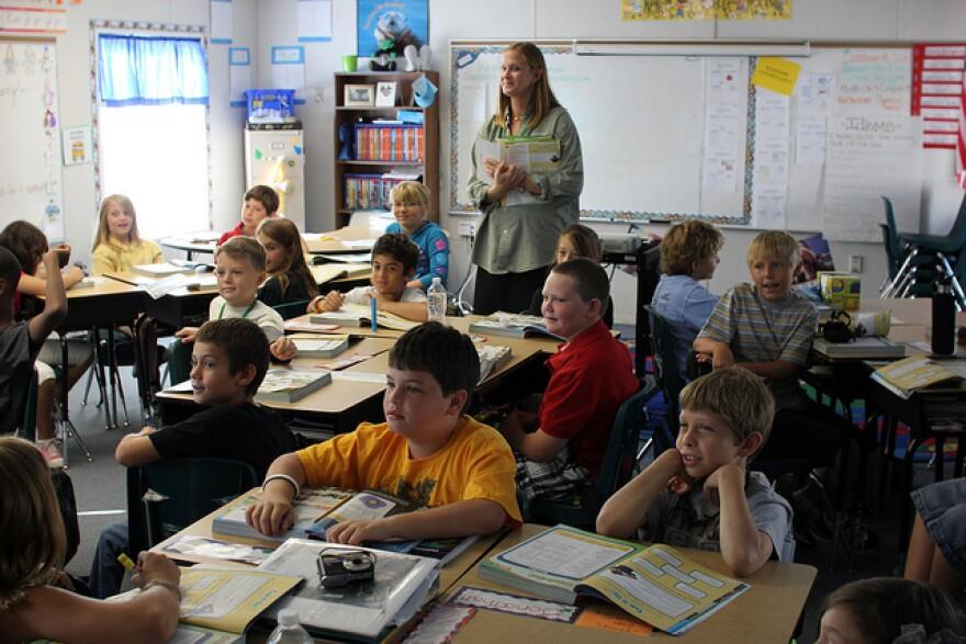 Pasco County, Florida classroom