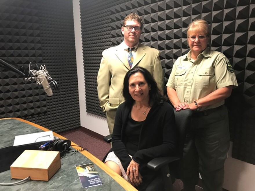 Florida Matters host Robin Sussingham joined in the studio by Dr. Chris Jones, economist with the University of South Florida and Judi Tear, spokesperson with the Florida Forest Service.