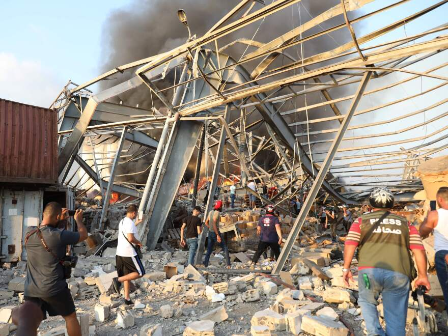The investigation into the massive explosion at Beirut's port is looking at the warehouse that had held 2,750 tons of ammonium nitrate.