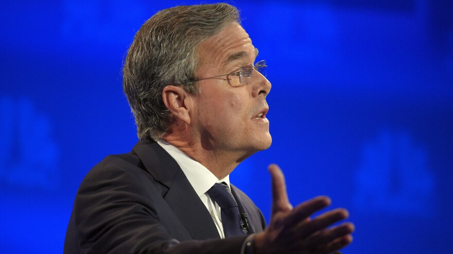 Former Florida Gov. Jeb Bush again needs a strong debate performance to quiet concerns that his White House campaign is struggling.