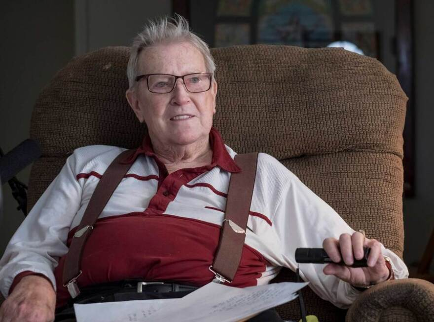 Orville Dash, 81, said he spent about $2,400 a week on video gambling machines at the height of his addiction, in 2015 and 2016. He often played at locations around his home in Maroa, Illinois, a farming community of close to 1,700 in central Illinois.