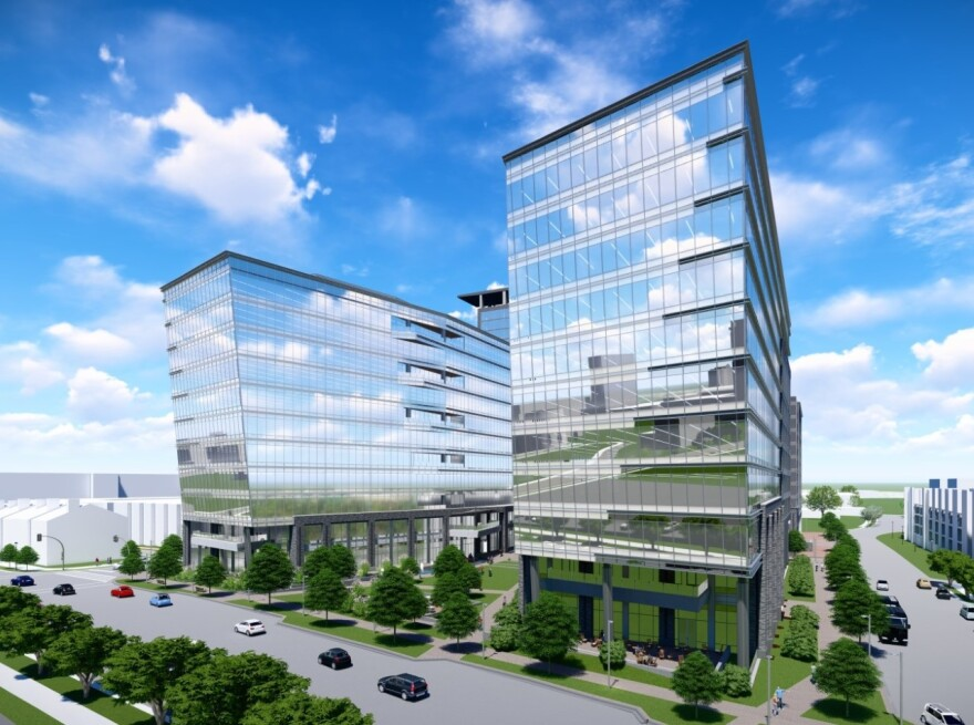 LendingTree will to a new project under development on South Tryon Street in Charlotte's South End.