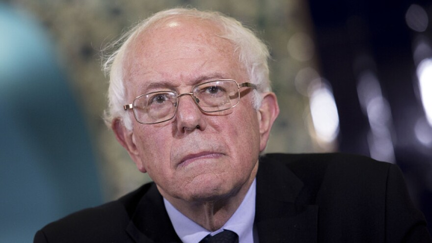 Sen. Bernie Sanders, an independent from Vermont and 2016 Democratic presidential candidate, in Washington, D.C., on Wednesday.