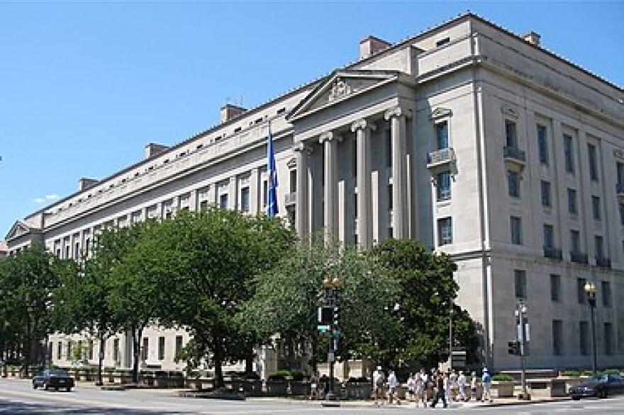 U.S. Justice Department Headquarters