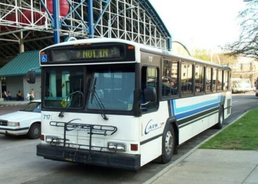 CATS has cut some bus routes and added others so fewer riders have to pass through the Transit Center uptown.