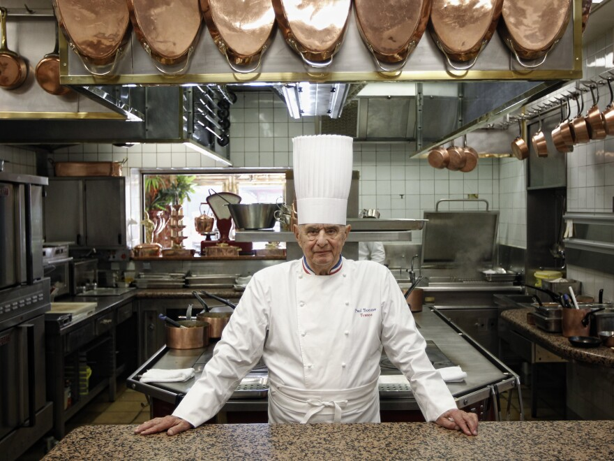 French chef Paul Bocuse, who helped invent a style of cuisine, died on Saturday at his home in France. The French president said chefs were crying across the nation.