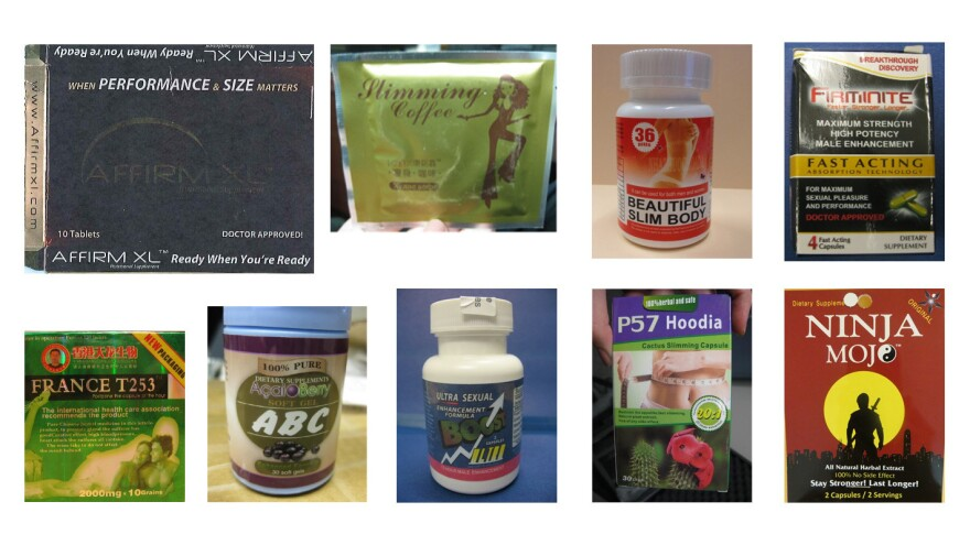 """Over the past several years, the FDA has deemed many dietary supplements to be """"tainted"""" by unapproved drugs."""