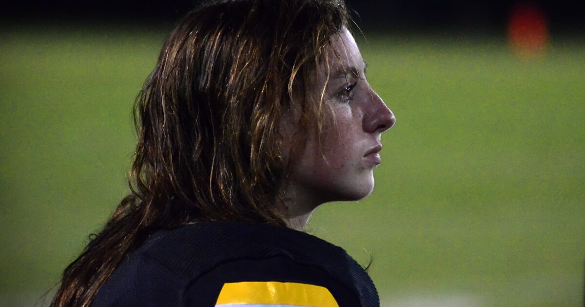 Yes, Chapel Hill's Brooklyn Harker is a football player. Get used to it.