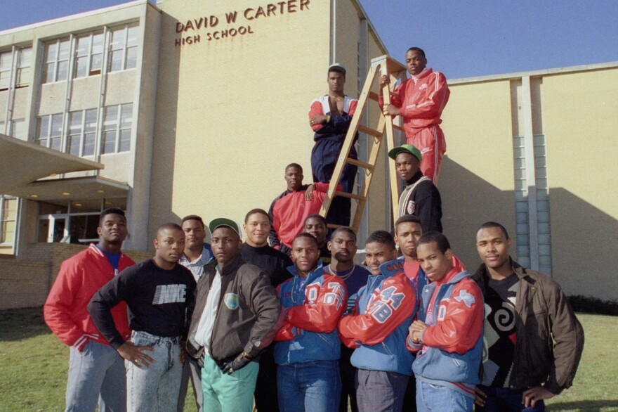 "The 1988 Carter High School football team won that year's Texas state championship. Filmmaker Adam Hootnick says, ""For a lot of people, that's the top."""