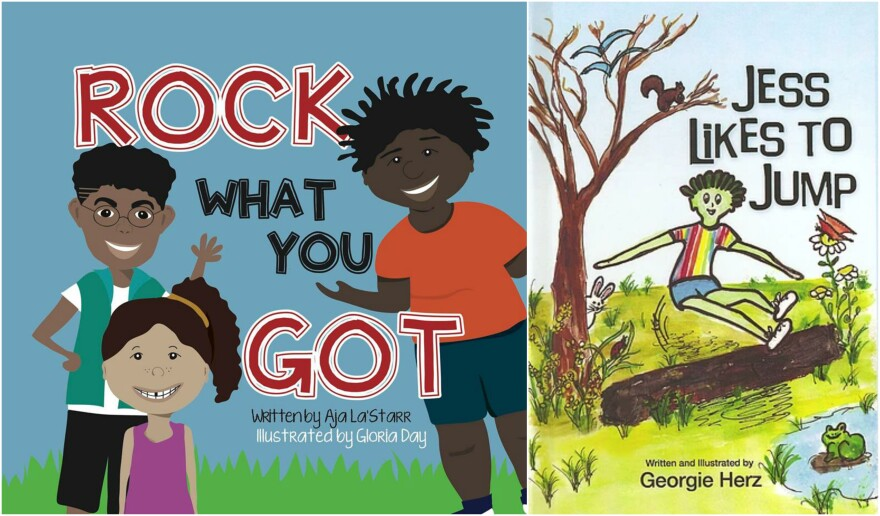 Books by Aja La'Starr Owens and Georgie Herz are two examples of youth literature promoting diversity.