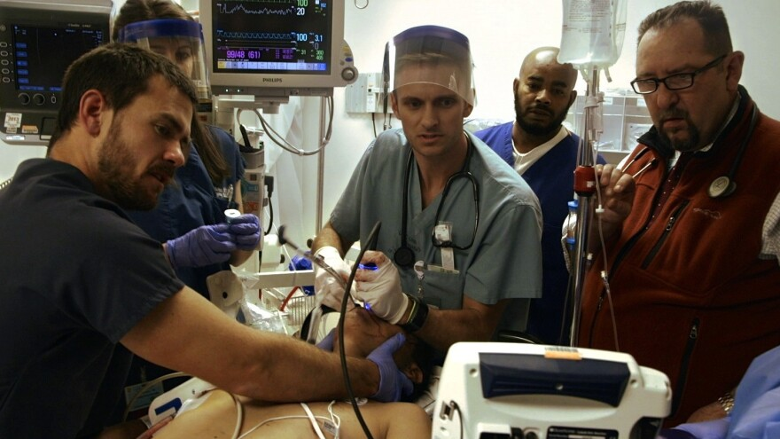 Dave Pomeranz, Ryan McGarry and William Mallon are some of the real-life ER doctors depicted in <em>Code Black</em>.