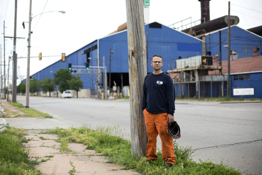 Granite City native Jason Fernandez, who serves as vice president of Local 1899, was laid off 10 years ago during the Great Recession.