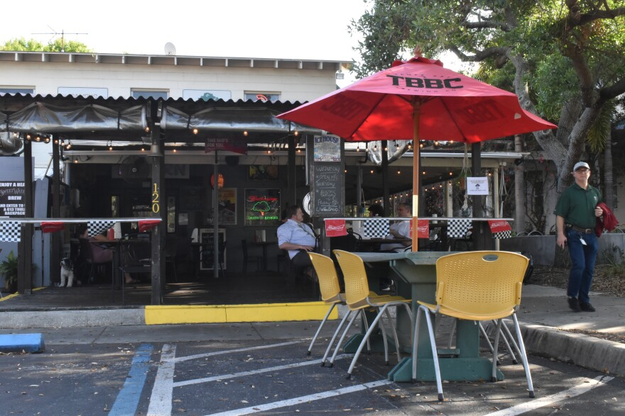 As the University of South Florida campuses prepare to move classes online through April 5, Tavern co-owner Stephanie Bixler says they're preparing for a major drop in business.