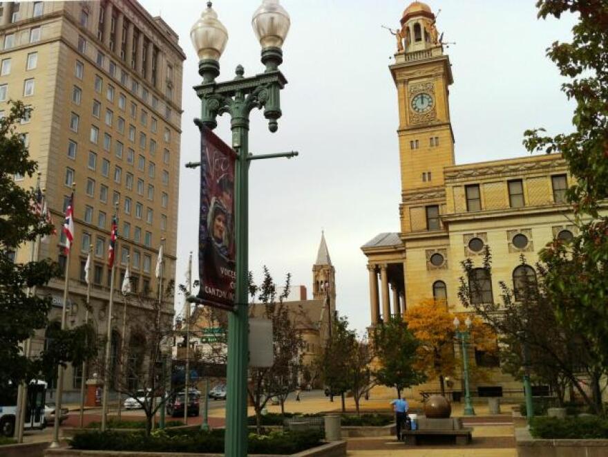 photo of downtown Canton, Ohio