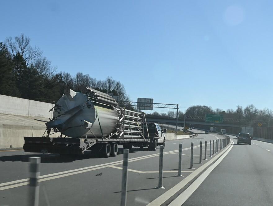 020321 Toll lane truck.JPG