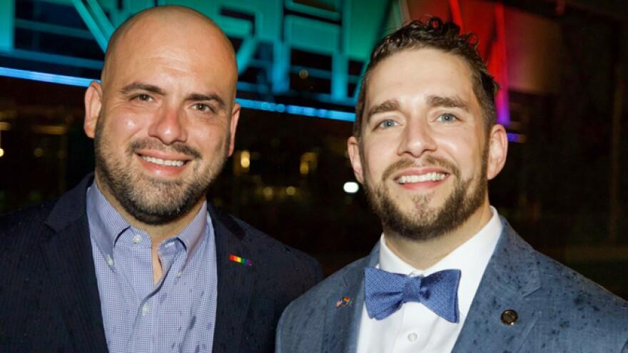 Mike Rudulph (left) and Neil Rafferty.