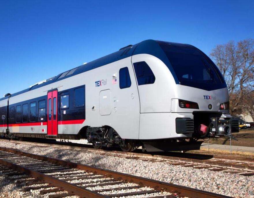 TexRail, D/FW's newest train line, runs from downtown Fort Worth to DFW International Airport.