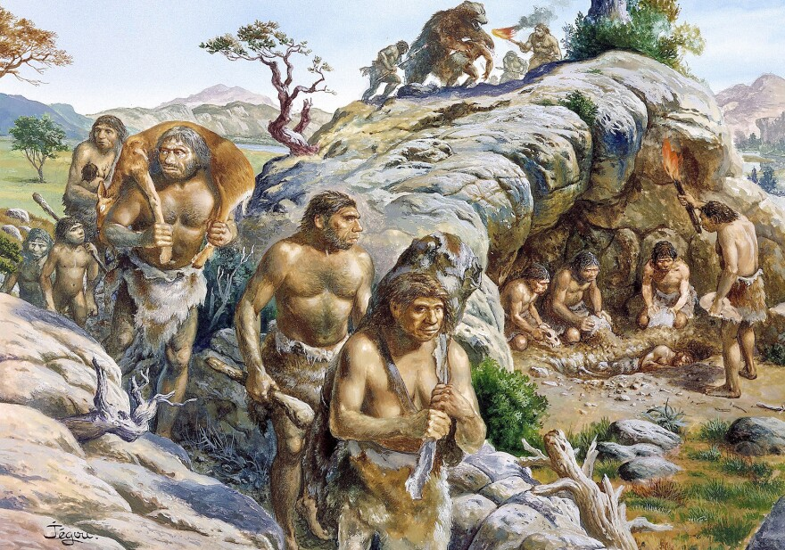 Archaeologists have suggested that Stone Age people sometimes ate one another for nutritional reasons. But a new study suggests that from a calorie perspective, hunting and eating other humans wasn't efficient.