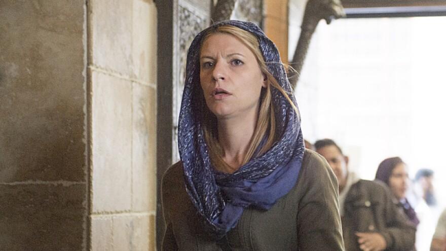 Claire Danes plays Carrie Mathison on <em>Homeland</em>. Season 4 begins Sunday on Showtime.