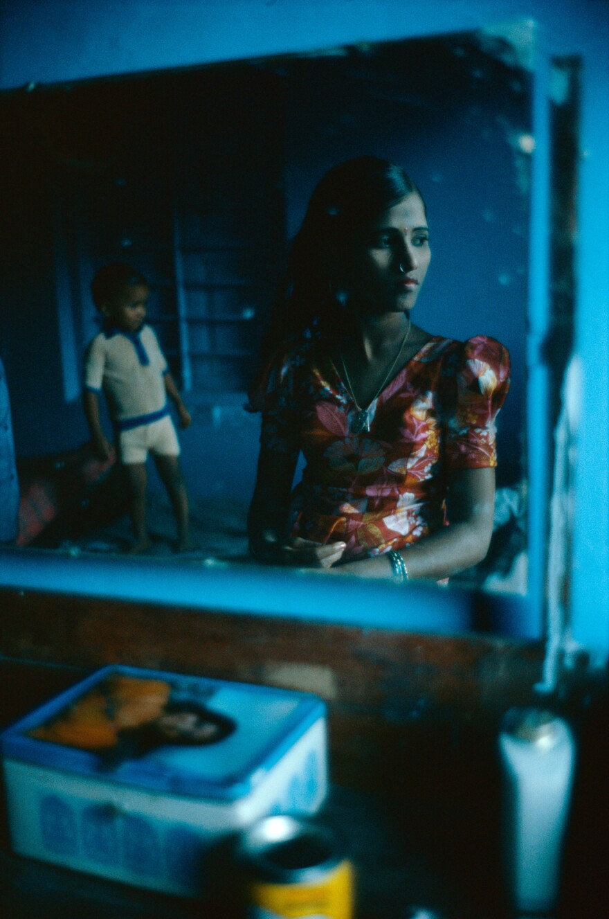 """Putla is among the younger of the prostitutes, who range in age from 11 to 65. Her madam doesn't like virgin girls. """"It is too dangerous,"""" the madam told Mary Ellen Mark. """"I can get in trouble with the law. It took me four months to break in Putla."""""""