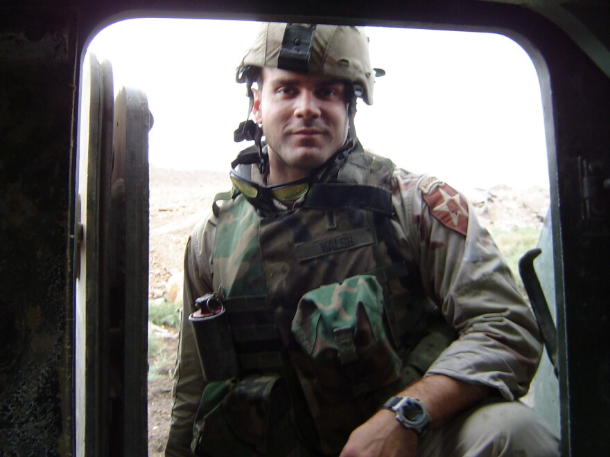 Will Walsh fought in Fallujah in 2004. He says he has thought about it every day for the past 10 years.