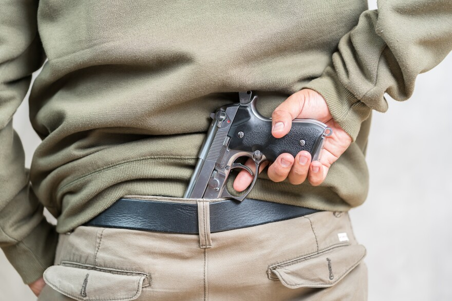 photo of concealed carry