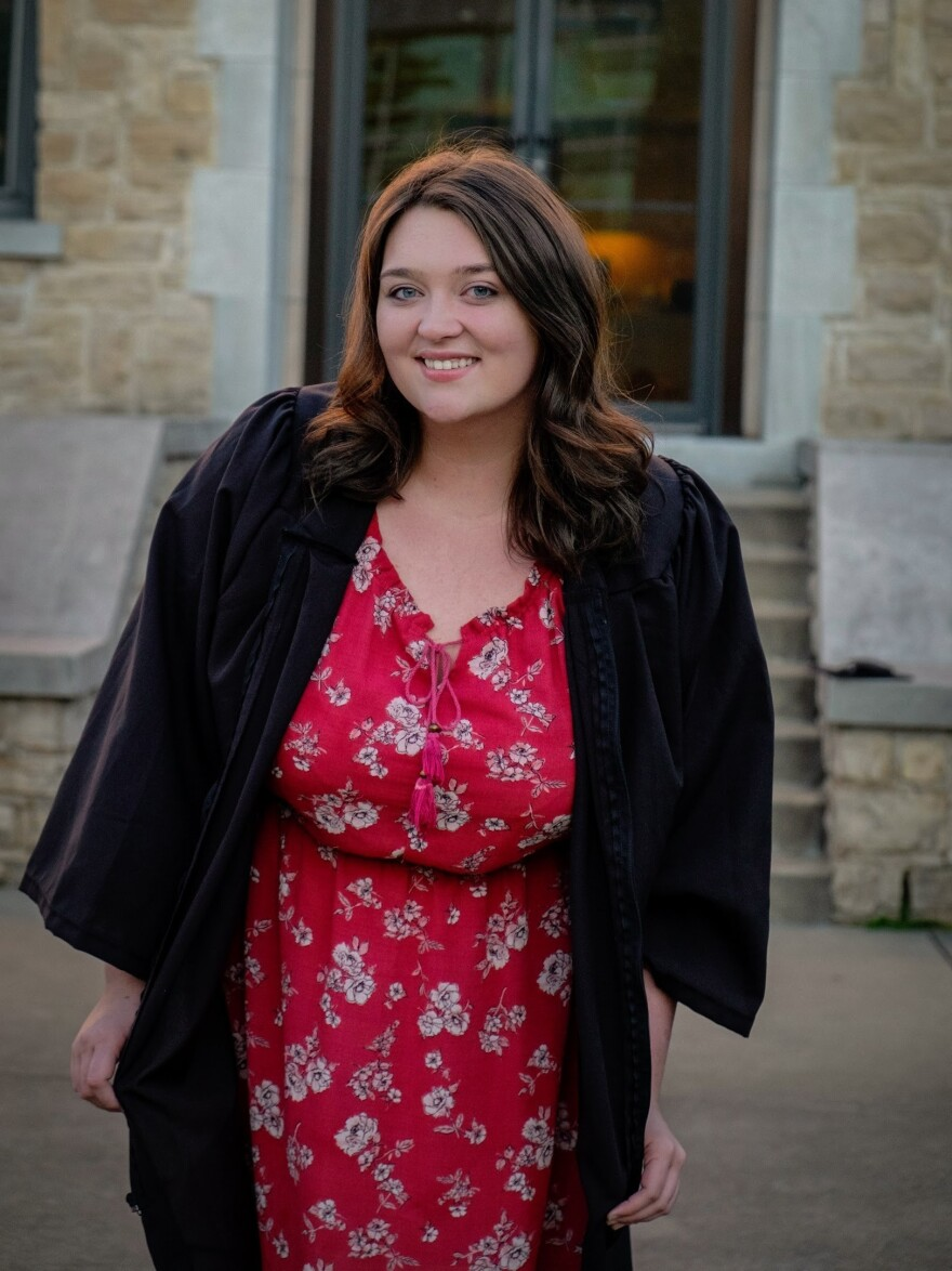 Brittany Weaver is about to graduate from College of the Ozarks in Missouri.