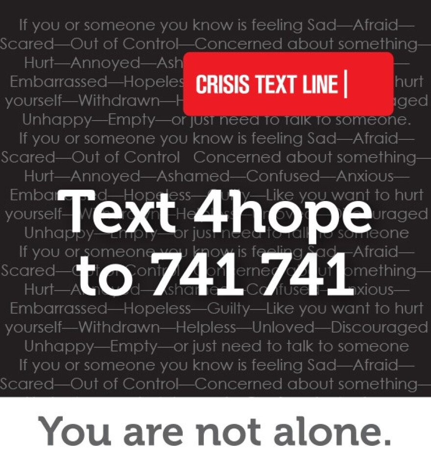 The Ohio Department of Mental Health and Addiction Services (OhioMHAS) has entered in to a contract with the national Crisis Text Line to provide Ohioans with a state-specific keyword to access its free, confidential service available 24/7 via text on mob