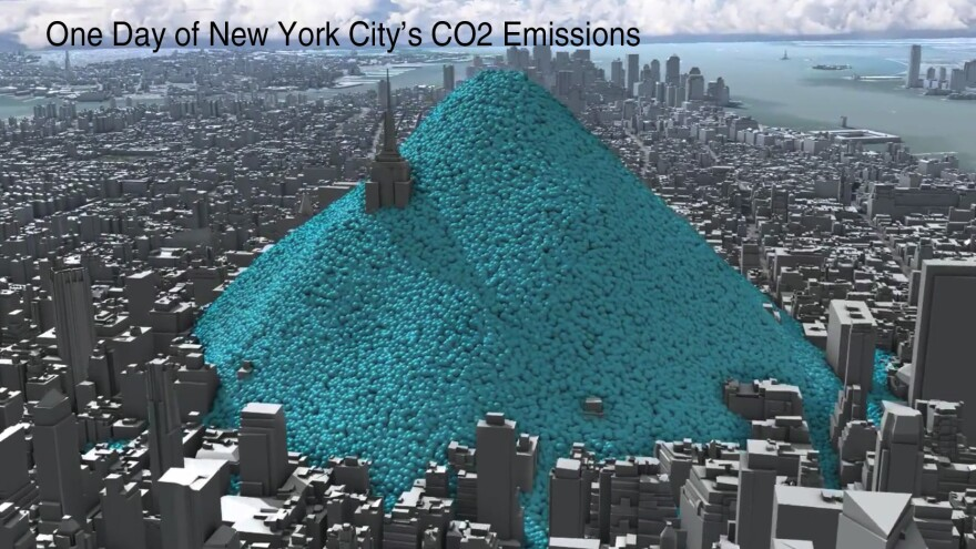 One Day Of New York City'€™s Carbon Dioxide Emissions
