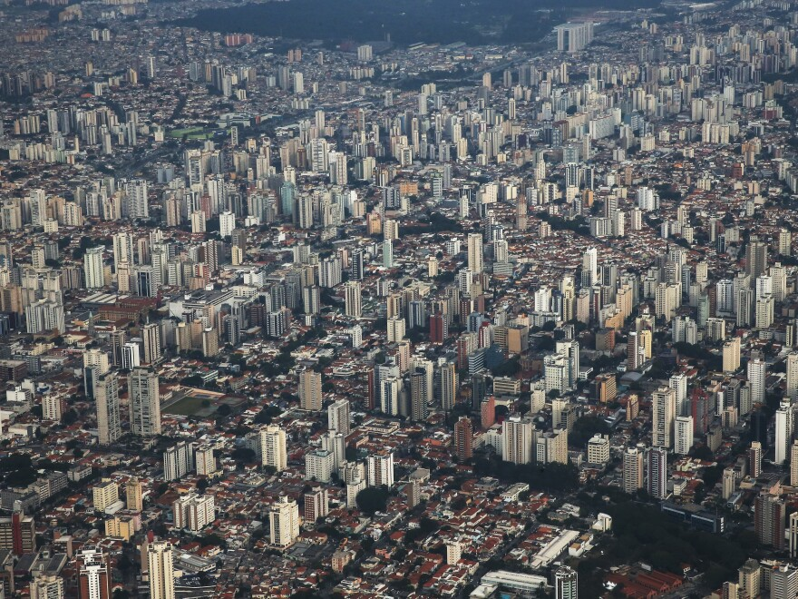 The sprawling, landlocked mega-city of Sao Paulo has become home to an introspective form of samba exploring themes of alienation. It's a far cry from the breezy music synonymous with Rio de Janeiro.