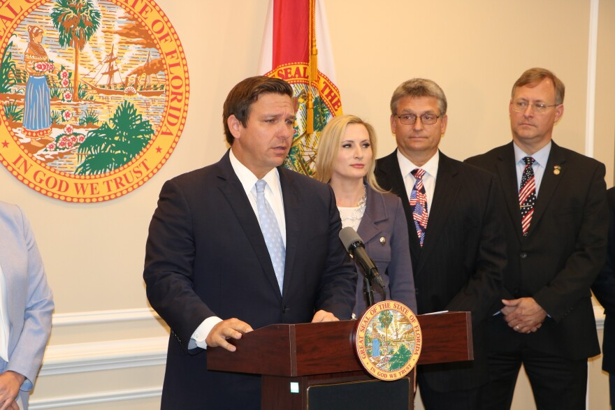 Governor Ron DeSantis announces that $2.3 million in unexpended funds will be returned to Supervisors of Elections throughout the state.