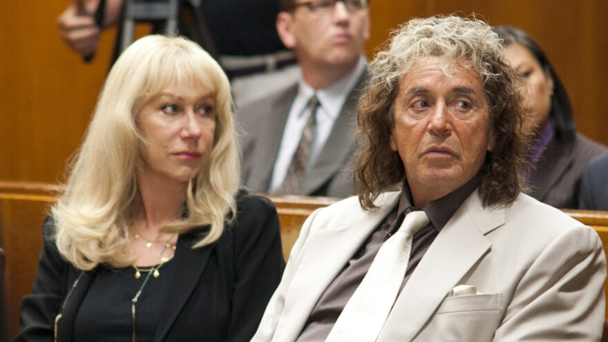 Helen Mirren and Al Pacino star in the new HBO film <em>Phil Spector</em>, which was written and directed by David Mamet.
