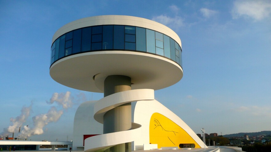 The Niemeyer Center for the arts will shut its doors on Dec. 15 after being open for only nine months in Aviles, Spain. It's a victim of political squabbling during difficult economic times.