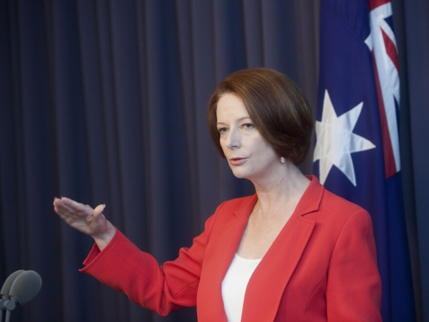 Australian Prime Minister Julia Gillard said last year that poker machine players should set a daily limit on how much they were prepared to lose.