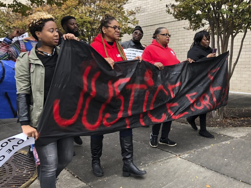 Residents of Hoover, Ala., have been protesting for months over the shooting death of Emantic Fitzgerald Bradford Jr. On Tuesday, a report by the state attorney general exonerated the police officer who shot Bradford.