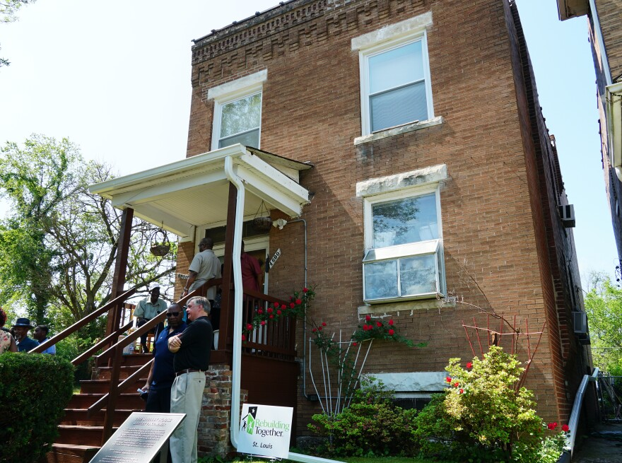 The 'Shelley House' in the Greater Ville neighborhood was the backdrop for one of the most important U.S. Supreme Court cases of the Civil Rights era.