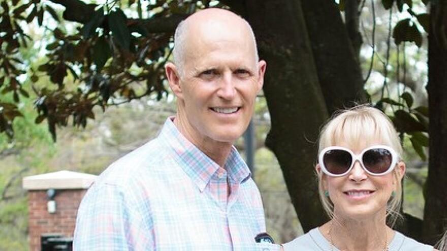 Gov. Rick Scott and First Lady Ann Scott