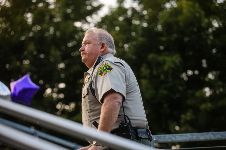 Snohomish County Sheriff Ty Trenary. He wasn't aware of the extent of the opioid epidemic in his county until he became sheriff and realized the jail had become a defacto detox center.
