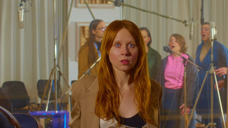 """I'm trying to make a world where the computer voices and the human voices occupy the same space,"" Holly Herndon says."