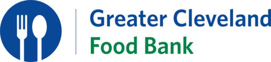 A photo of the Greater Cleveland Food Bank logo.